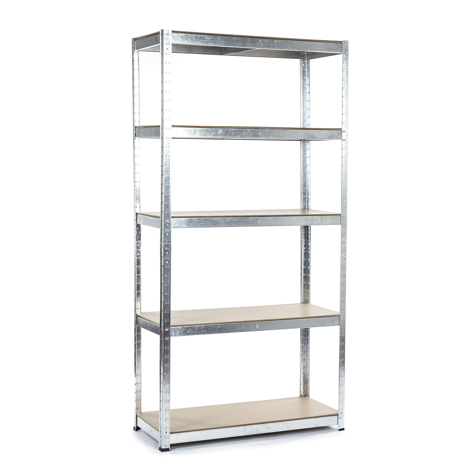 Easy to assemble Galvanised Shelving - Assembly Instructions